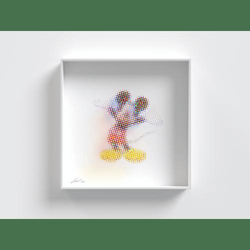 CMY Mickey by Yoni Alter