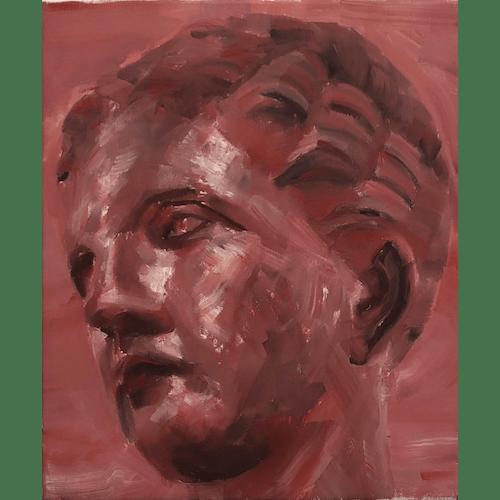 Greek Head Study by Matteo Venturi