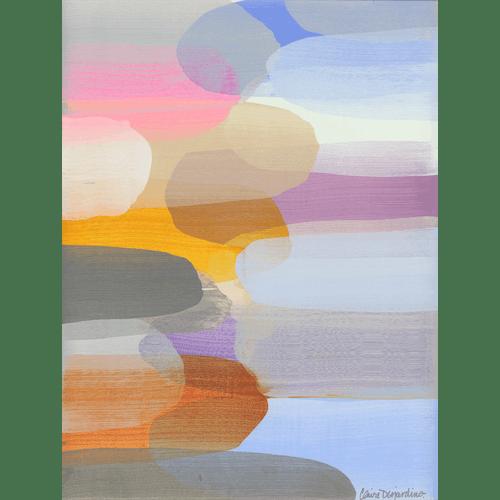When the Sun Sets by Claire Desjardins