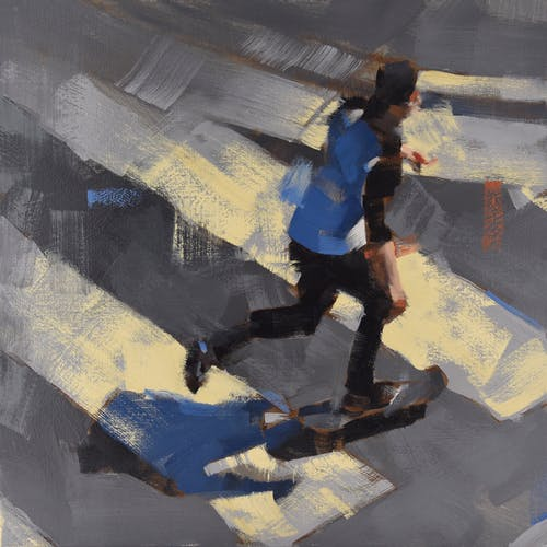 Skateboarder by Kevin Yaun