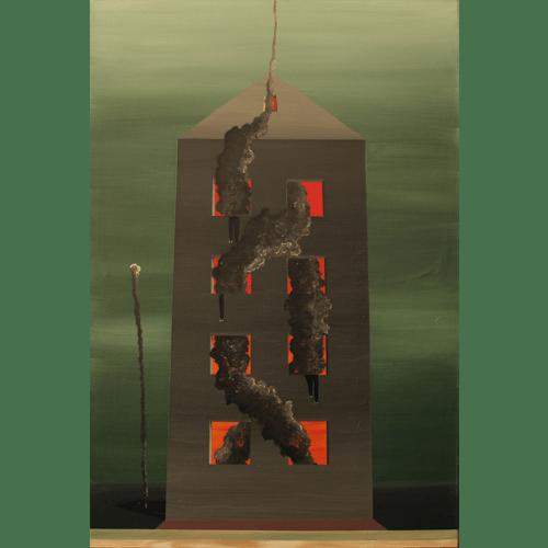 February Fire by David Sprenger