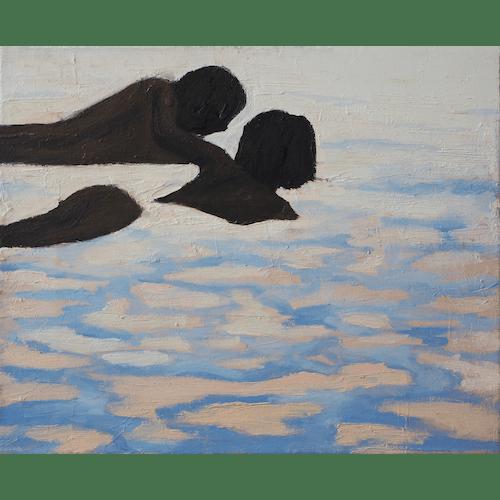 Children in water by Julita Malinowska