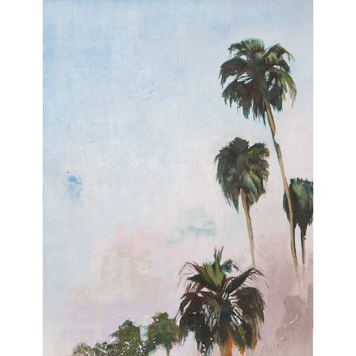 Promenade of Palms by James Pouliot