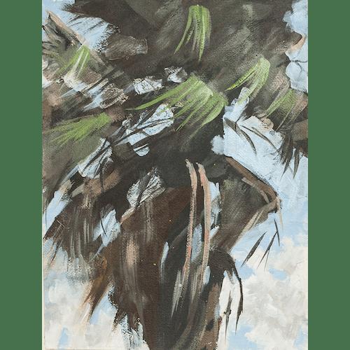 Windy Palm I by James Pouliot