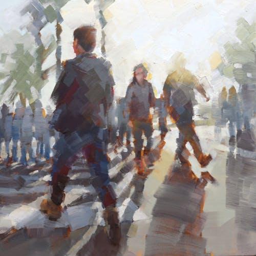 Impression Crosswalk IV by Kevin Yaun