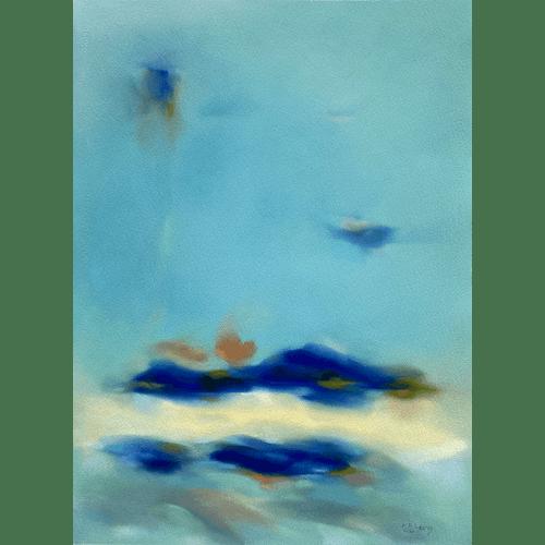 Cascading Vivacity 17 by Kristin Holm Dybvig