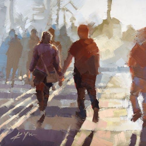 Impression, Crosswalk III by Kevin Yaun