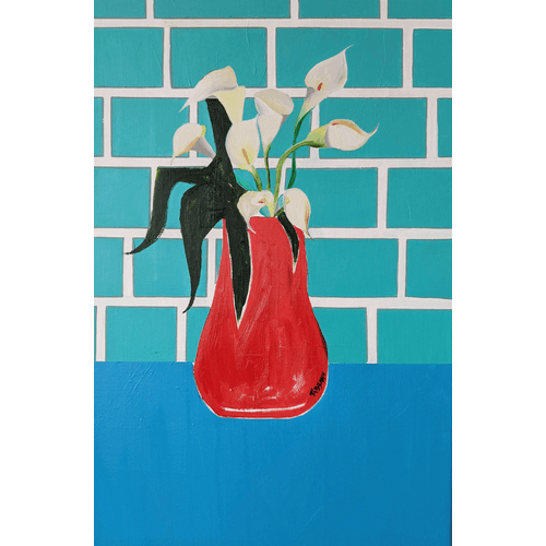 Dirty Calla Lilies by Cathy Tabbakh