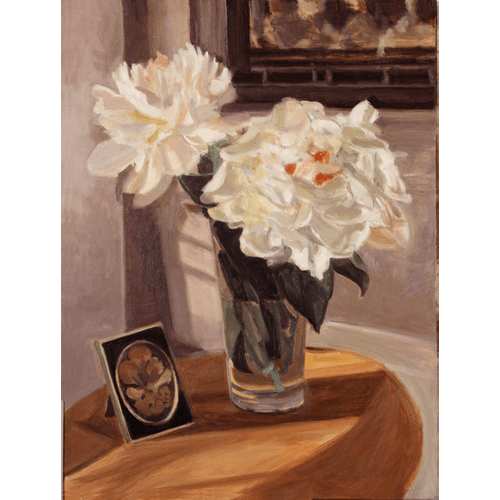 Flowers and Frame by David Abecassis