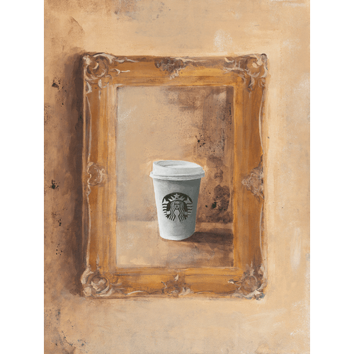 Starbucks Cup by James Pouliot
