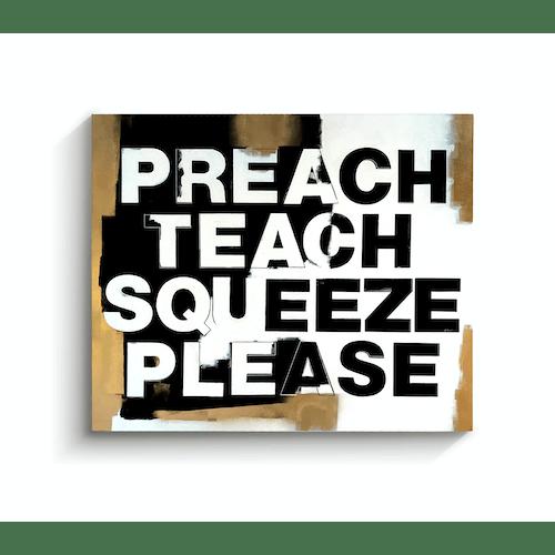 Preach Teach by Chris McCrae