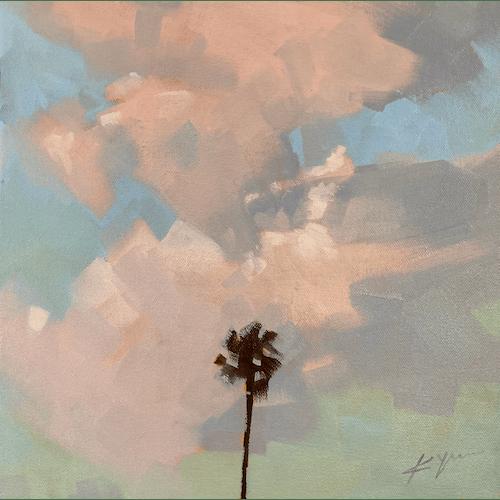 Venice Palms X by Kevin Yaun