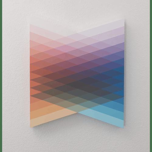 Orange & Blue Colour Flow by Andy Lepe