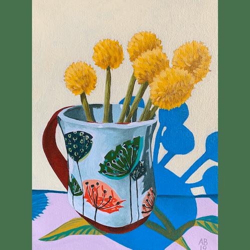 Tracy's Mug by Amy Bultena