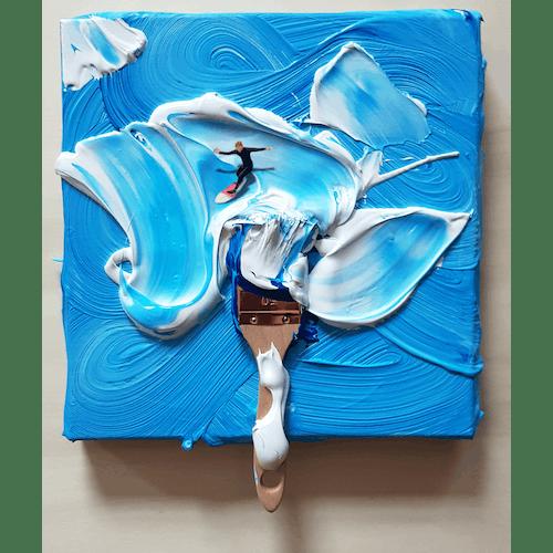 A windy canvas by Golsa Golchini