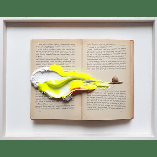 A snail on fire by Golsa Golchini