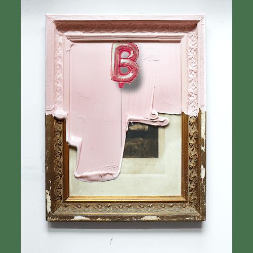A tribute to Banksy by Golsa Golchini