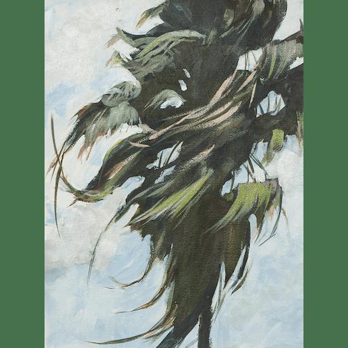 Windy Palm II by James Pouliot