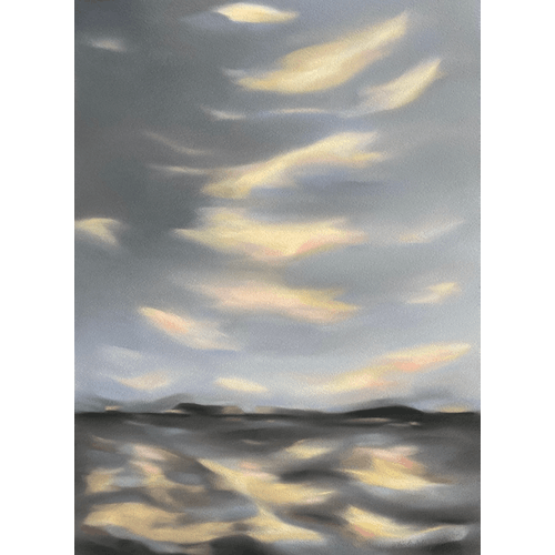 September Song 4. Towards Evening by Kristin Holm Dybvig