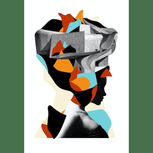 Arquitetura cósmica de uma tragédia abstrata by Gustavo Amaral