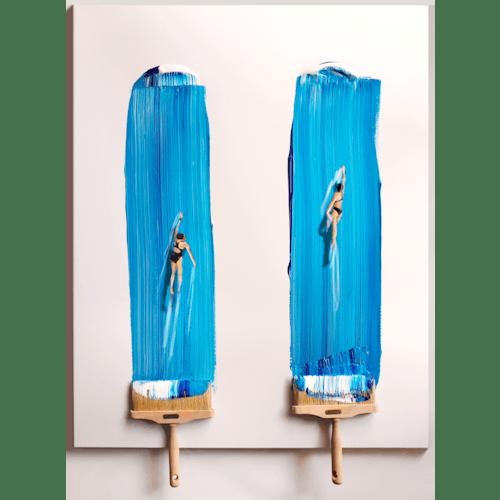 Blue notes by Golsa Golchini