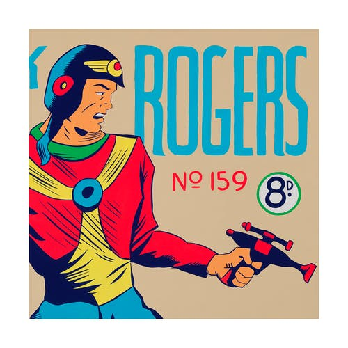 Buck Rogers No. 159 by Maggie Hall