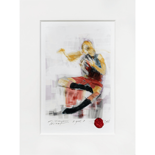 Girl by Krayem Maria Awad