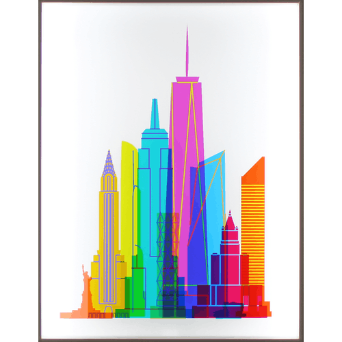 NYC Lightbox by Yoni Alter
