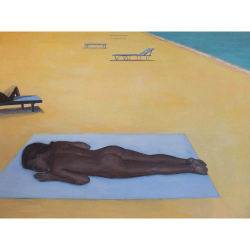 Girl on the beach II by Julita Malinowska