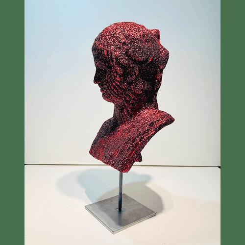 Glitterphobia Red by Daniele Fortuna
