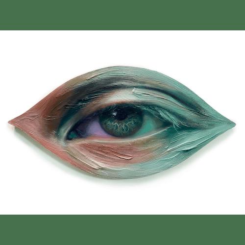 Sad eyes, white lies by Maldha Mohamed