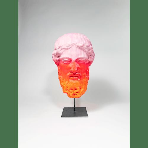 Zeus Red Pink by Daniele Fortuna