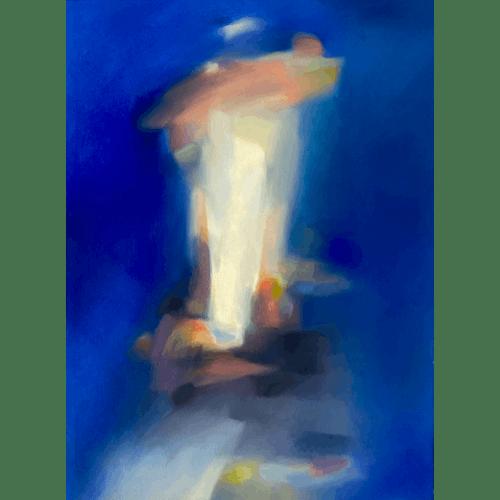 Cascading Vivacity 19 by Kristin Holm Dybvig