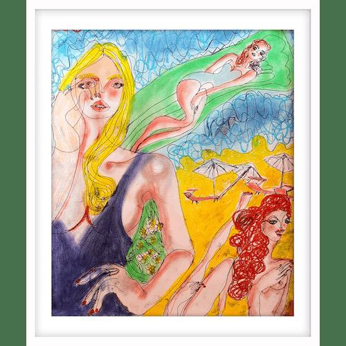 Matelas de mer by Claudia Marchetti