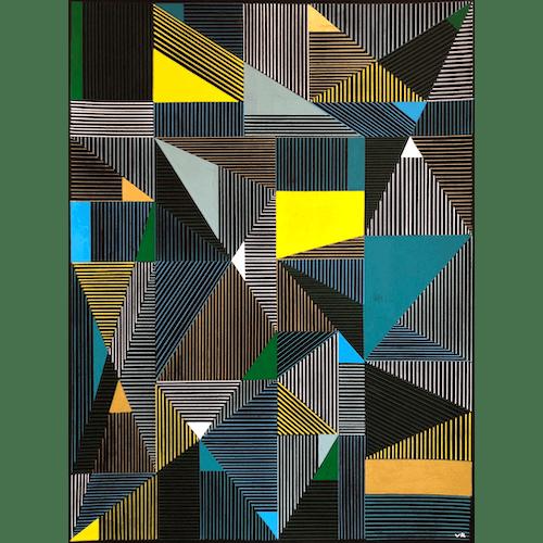 Multi Lines #13 by Veronica Romualdez