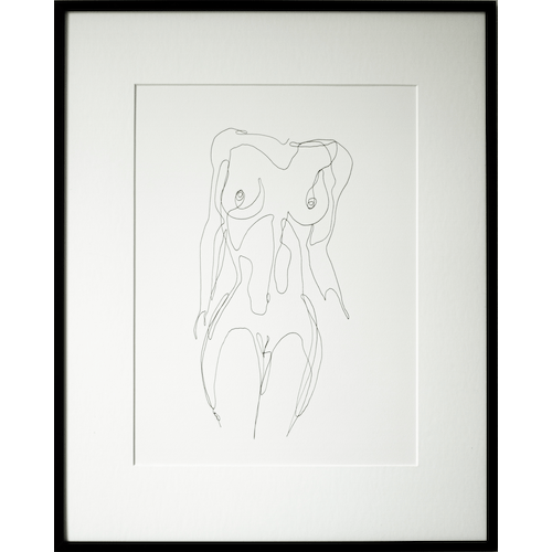 Nude lady 001 by Martin Tardy