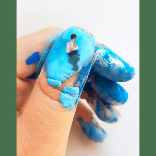 a blue reflection by Golsa Golchini