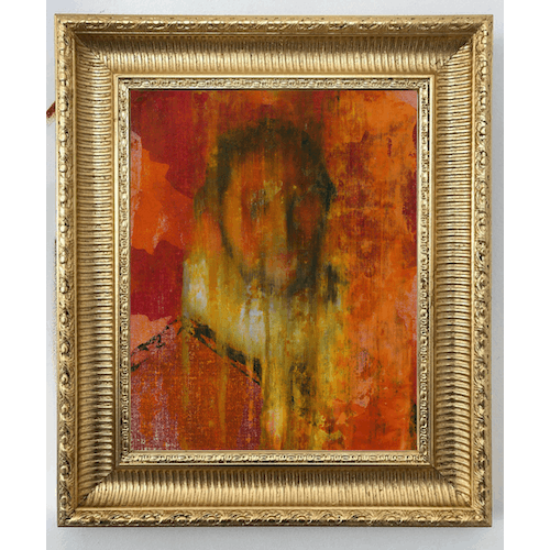 Portrait of a Man with Red and Yellow