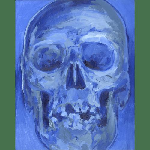 Cyanide Skull by Valentyn Babiiets