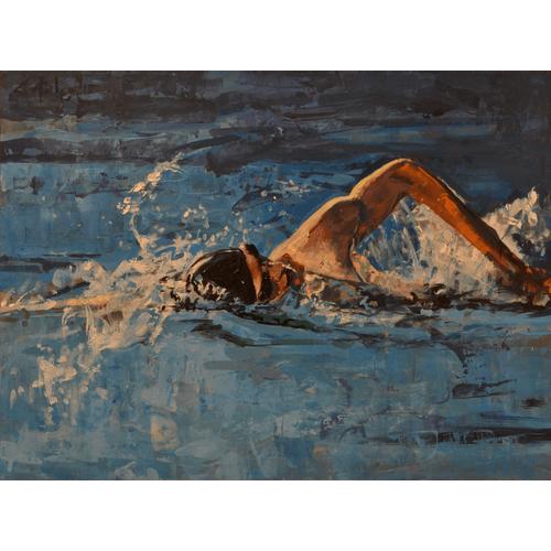 Swimmer by Marco Ortolan