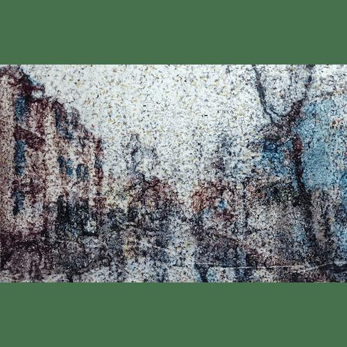 The Light Blue Building by Alessio Mazzarulli
