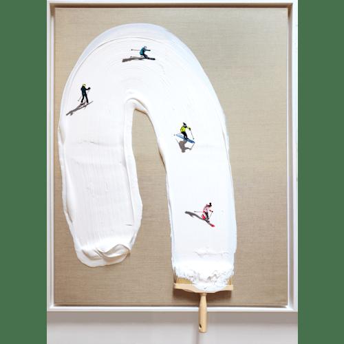 The white slide by Golsa Golchini