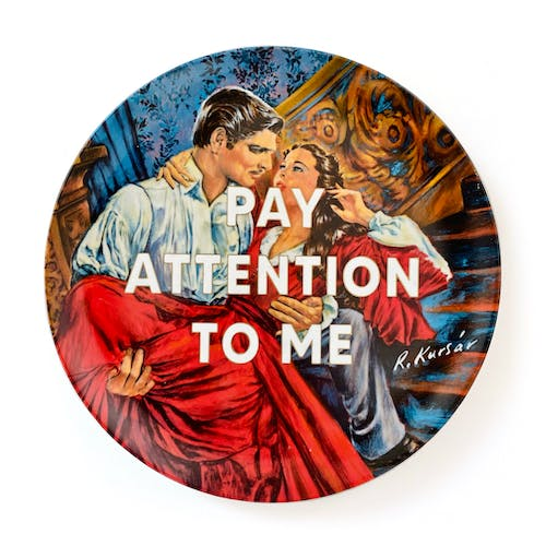 Pay attention to me by Maggie Hall