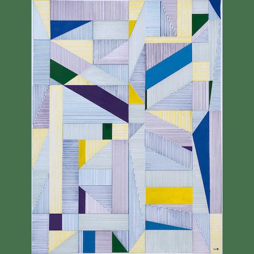 Multi Lines 002 by Veronica Romualdez