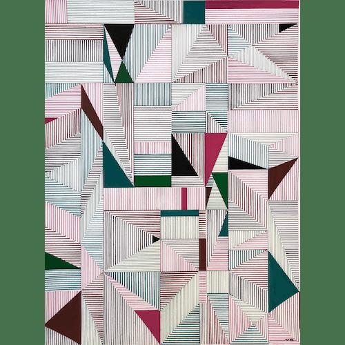 Multi Lines 005 by Veronica Romualdez