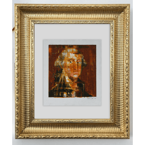 After Rembrandt, Portrait of George Washington by Frans Smit