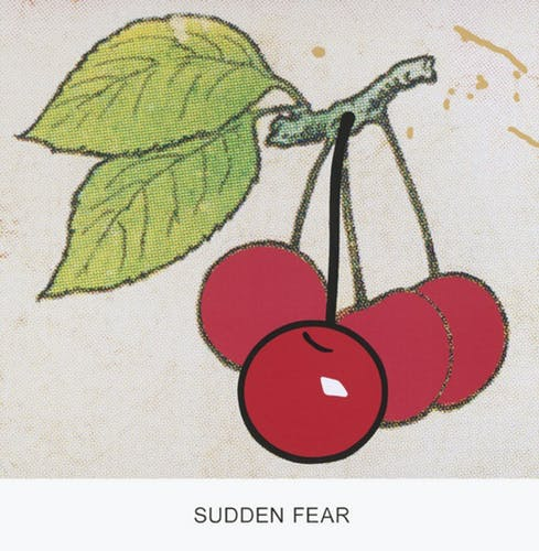 John Baldessari, Double Feature: Sudden Fear, 2011.