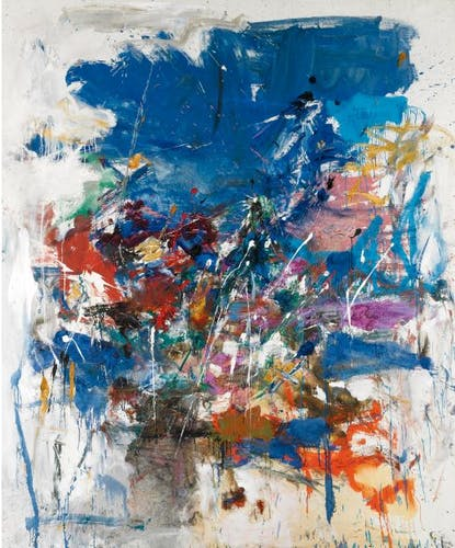 Joan Mitchell, Untitled, 1960.