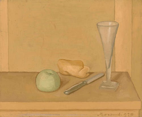 Giorgio Morandi, Natura morta, 1920, oil on canvas, 34.5 x 42.3 cm.