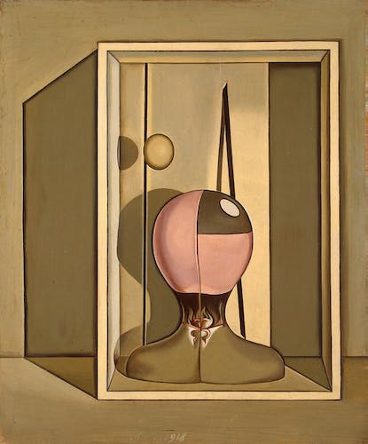 Giorgio Morandi, Metaphysical Still Life, 1918, Oil on Canvas.